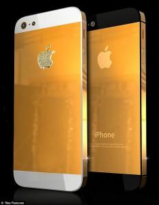 Бриллиантовый iPhone 5